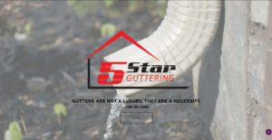5 Star Guttering's website