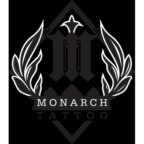 Monarch Tattoo Logo