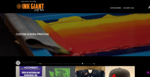 Ink Giant Print Haus's website